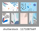 set of creative universal... | Shutterstock .eps vector #1171087669