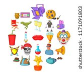 picture theater icons set....   Shutterstock .eps vector #1171091803
