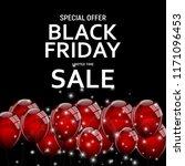 black friday sale banner...   Shutterstock . vector #1171096453