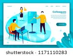 vector concept illustration   ... | Shutterstock .eps vector #1171110283