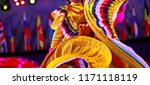 mexican traditional costume for ... | Shutterstock . vector #1171118119