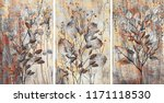 collection of designer oil... | Shutterstock . vector #1171118530