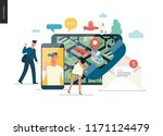 business series   contacts  ...   Shutterstock .eps vector #1171124479