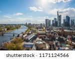 view of skyline at center... | Shutterstock . vector #1171124566