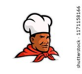 mascot illustration of head of... | Shutterstock .eps vector #1171158166