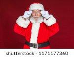 Christmas. Serious Santa Claus...