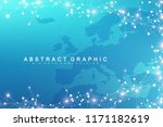 geometric graphic background... | Shutterstock .eps vector #1171182619