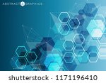 big data visualization... | Shutterstock .eps vector #1171196410