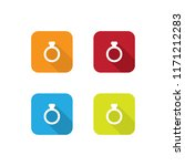 colorful ring icons with long...