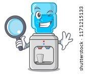 detective electric water cooler ... | Shutterstock .eps vector #1171215133