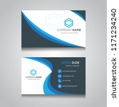 vector modern creative and... | Shutterstock .eps vector #1171234240