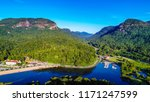Aerial View Of Lake Lure  North ...