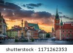 royal castle  ancient... | Shutterstock . vector #1171262353