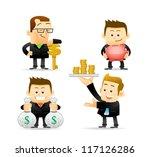 elegant people series  ... | Shutterstock .eps vector #117126286