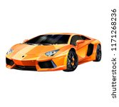 super car design concept.... | Shutterstock . vector #1171268236