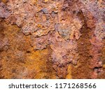 rusty iron background  the... | Shutterstock . vector #1171268566