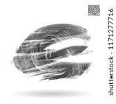 grey brush stroke and texture....   Shutterstock .eps vector #1171277716