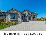 big custom made luxury house...   Shutterstock . vector #1171293763