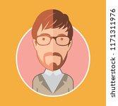 geek avatar man | Shutterstock .eps vector #1171311976