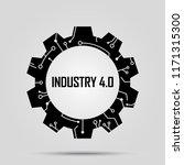 industry 4.0 concept | Shutterstock .eps vector #1171315300