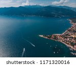 aerial view of yachts in city... | Shutterstock . vector #1171320016
