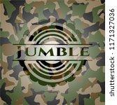 jumble on camouflage texture   Shutterstock .eps vector #1171327036