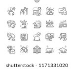 stock market well crafted pixel ... | Shutterstock .eps vector #1171331020