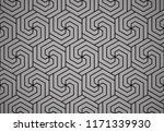 abstract geometric pattern with ... | Shutterstock .eps vector #1171339930