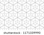 the geometric pattern with... | Shutterstock .eps vector #1171339990