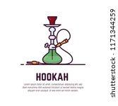 Smoking Hookah Concept. Shisha...