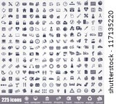 icon set. pictogram about... | Shutterstock .eps vector #117135220