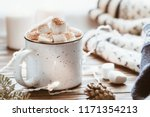 Hot Cocoa With Marshmallow In ...