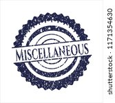 blue miscellaneous distress... | Shutterstock .eps vector #1171354630