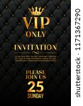 vip luxury invitation event.... | Shutterstock .eps vector #1171367290