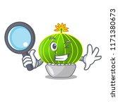 detective plant notocactus... | Shutterstock .eps vector #1171380673
