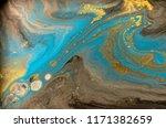 gold marbling texture design.... | Shutterstock . vector #1171382659