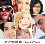 women facial expressions | Shutterstock . vector #117139138