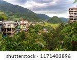 mountain town banaue landscape...   Shutterstock . vector #1171403896