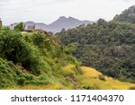 beautiful landscape at banaue... | Shutterstock . vector #1171404370