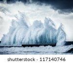 Giant Wave Splash  Beautiful...