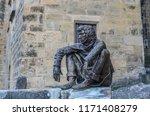 sarlat  la  aneda  france   18... | Shutterstock . vector #1171408279