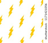 seamless pattern with lightning ... | Shutterstock .eps vector #1171421056