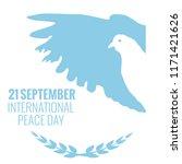 21 september international... | Shutterstock . vector #1171421626