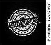 transmission chalk emblem... | Shutterstock .eps vector #1171424596