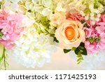 beautiful flower decorate... | Shutterstock . vector #1171425193