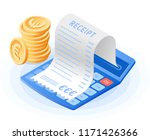 the mathematics calculator ... | Shutterstock .eps vector #1171426366