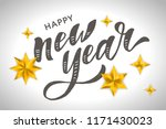 new year christmas lettering... | Shutterstock .eps vector #1171430023