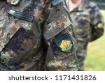 bulgaria army uniform.... | Shutterstock . vector #1171431826