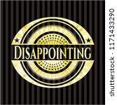 disappointing golden badge   Shutterstock .eps vector #1171433290