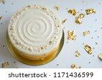 Cake With White Cream ...